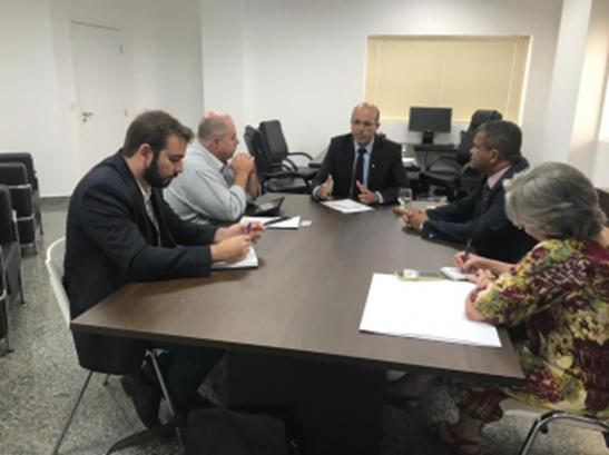 ENERGISA – Deputado Ismael Crispin se reúne com a Energisa em apoio aos consumidores de Rondônia