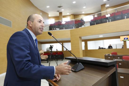 HOMENAGEM | Ismael Crispin propõe Voto de Louvor a jornalista Ana Lídia Daibes pela apresentação do Jornal Nacional
