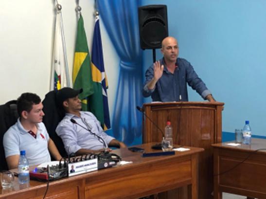 ENERGISA – Deputado Ismael Crispin visita Parecis e recebe apelo por fornecimento de energia elétrica