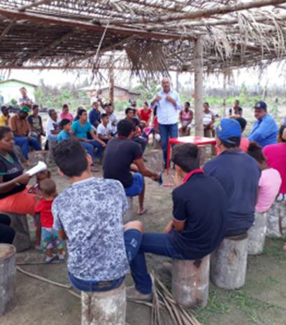 Deputado Ismael Crispin se reúne com moradores no assentamento Vale do Rio Preto