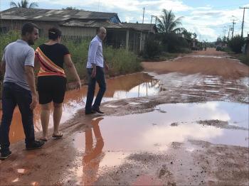 CIDADE | Ismael Crispin realiza visita ao Distrito de Jaci-Paraná