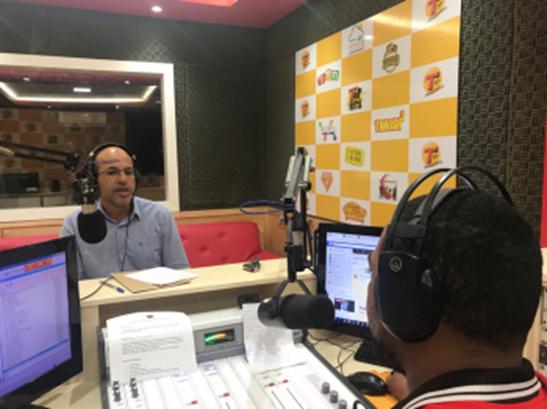 EMENDA | Ismael Crispin concede entrevista na rádio e fala de investimentos para o Município de São Miguel