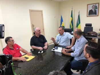 Ismael Crispin visita prefeito de Rolim de Moura