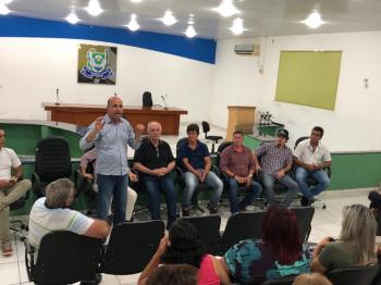 Deputado Ismael Crispin realiza reuniões na zona da Mata