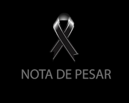 Nota de pesar pelo falecimento de Antônio Martins e Silvanei Bonilio