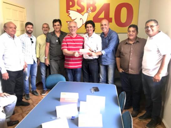 Perito Criminal Josias Batista se filia ao PSB