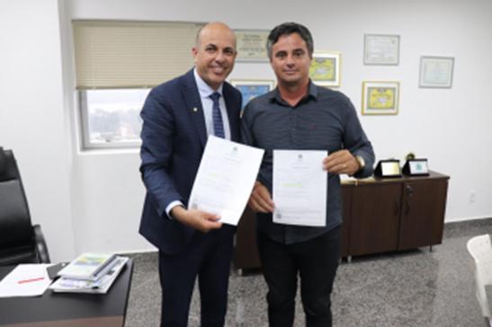 Ismael Crispin garante recursos para Hospital Municipal de Nova Brasilândia D'Oeste
