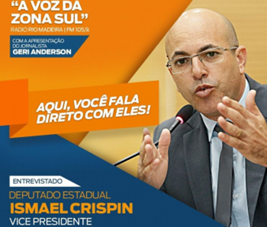 """Ismael Crispim participa da estreia do programa """"A Voz da Zona Sul"""""""