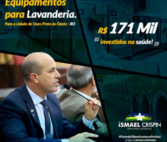 Ismael Crispin garante investimentos para saúde de Ouro Preto do Oeste e ganha reconhecimento em sessão