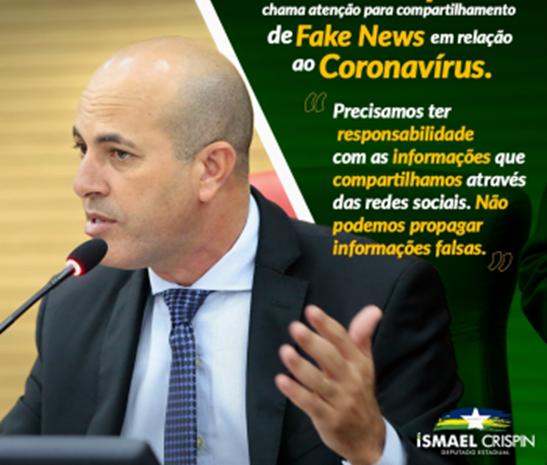 Coronavírus: Ismael Crispin ressalta ações de prevenção do Poder Legislativo de Rondônia