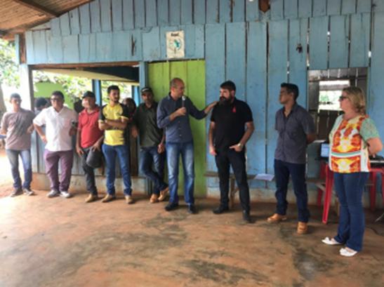 PODER – Crispin em Seringueiras instiga agricultura, educação e saúde da cidade