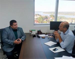 DER – Meireles reafirma compromisso feito com Ismael Crispin