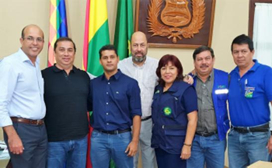 BI-NACIONAL | Legislador na Bolívia participa de reunião com governador do Beni