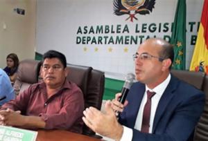 BI-NACIONAL | Política legislativa de Crispin estabelece relações comercias com Bolívia