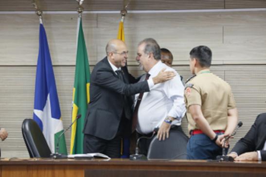 PROTEÇÃO – Crispin em formação de Brigadistas do TJ cita a união entre os poderes