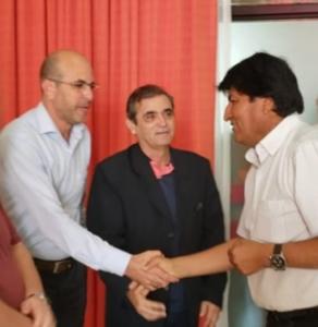 BINACIONAL – Frente parlamentar é recebida por Evo Morales