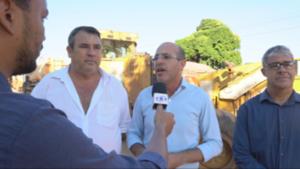 """INFRAESTRUTURA – Governo do Estado atende Deputado Ismael Crispin e São Miguel recebe o """"Cidade Limpa"""""""