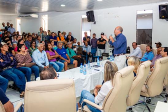 AGRO – Ismael Crispin finaliza semana de debates sobre as Leis do PROVE e SUSAF em São Miguel do Guaporé
