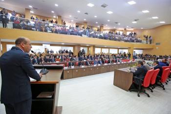 CONSTITUIÇÃO – Emoção e homenagens marcam Sessão Solene que comemorou os 36 anos da primeira Constituição Estadual