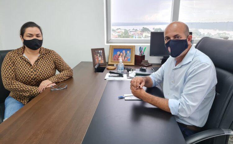 Em reunião com sindicato, Ismael Crispin debate regulamentação da Polícia Penal