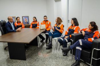 Deputado Ismael Crispin hipoteca apoio a equipe Anjos do Resgate em Porto velho