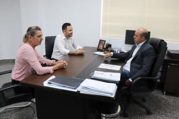 Deputado Ismael Crispin recebe em seu gabinete, vereadores de Ouro Preto do Oeste