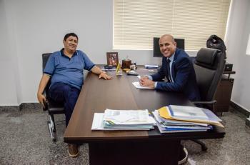 Deputado Ismael Crispin recebe liderança política de Cerejeiras