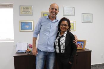 Deputado Ismael Crispin recebe representante da AIBA