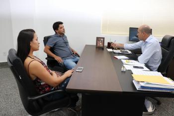Ismael Crispin recebe visita do presidente do PSB de Corumbiara