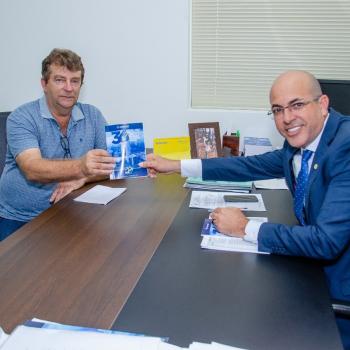 O prefeito de Vale do Anari solicitou do deputado a destinação de emendas para apoiar o município