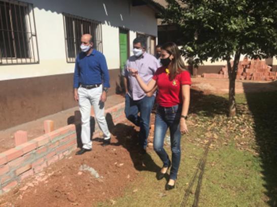 Intervenção do deputado Ismael Crispin garante melhorias na educação de Rolim de Moura