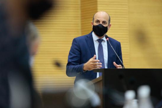 Deputado Ismael Crispin comemora aprovação de PL que reconhece utilidade pública da ASPOM-SMG