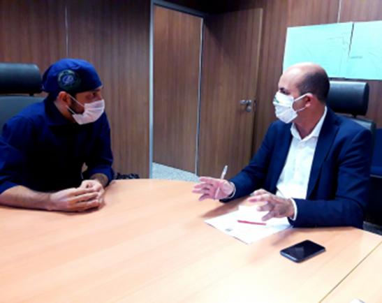 Ismael Crispin intercede junto ao Governo para conter avanço do Coronavírus em São Miguel do Guaporé