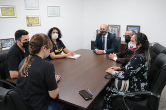 Deputado Ismael Crispin garante apoio aos Oficiais de Justiça de Rondônia
