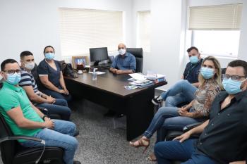 Em reunião com Ismael Crispin, secretários relatam altos preços de insumos para enfrentamento da Covid-19