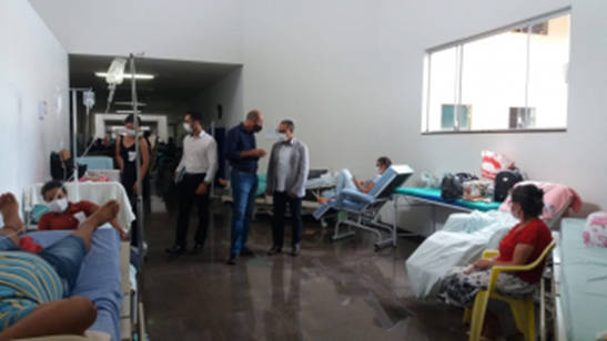Falta de profissionais em hospital de Cacoal preocupa Ismael Crispin