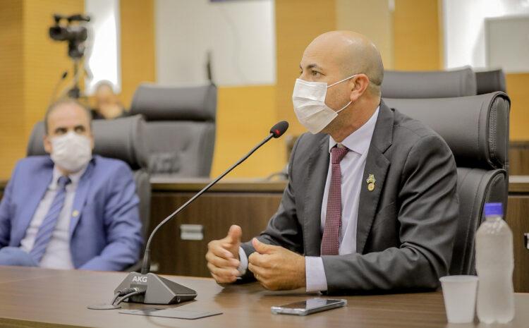 Ismael Crispin agradece governador de Rondônia pela atenção com a Lei do Zoneamento