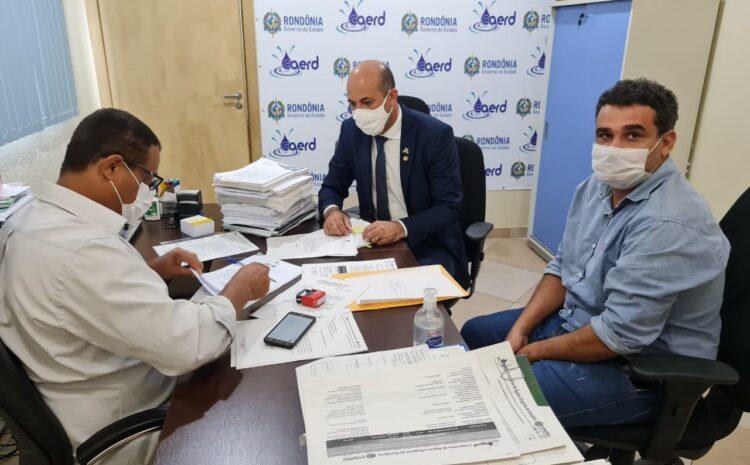 Ismael Crispin pede fornecimento de água para loteamento de Espigão D'Oeste