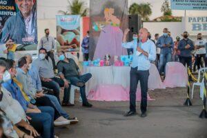 Ismael Crispin prestigia lançamento de projetos do governo em Alta Floresta do Oeste e Santa Luzia d'Oeste