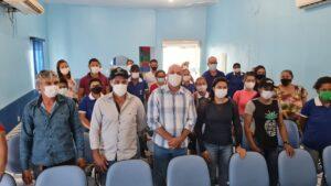 Em Seringueiras, Ismael Crispin e ACS comemoram avanços na aquisição de motocicletas