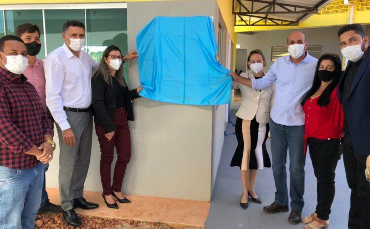 Em Pimenta Bueno, Ismael Crispin comemora entrega de obras em duas escolas