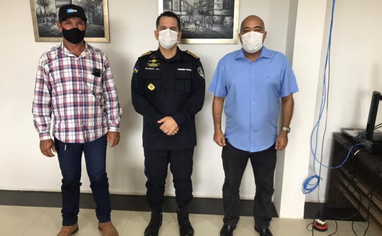 Deputado Ismael Crispin reitera pedido por segurança na Vila de Samuel
