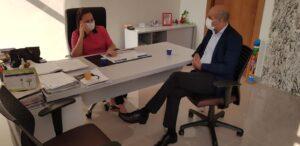 Em reunião com a Semusa, Ismael Crispin pede serviços básicos de saúde para os moradores de União Bandeirantes