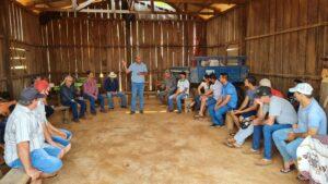 Ismael Crispin anuncia recursos para atender produtores de São Francisco do Guaporé