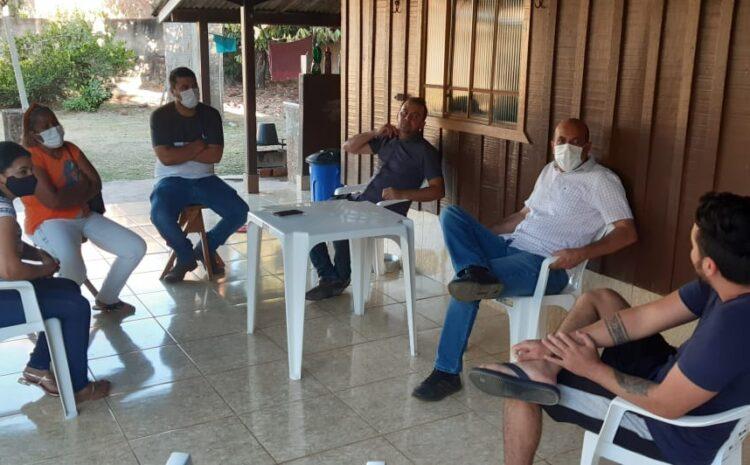 Deputado Ismael Crispin e vereadores de Governador Jorge Teixeira visitam lideranças