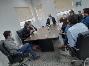 Deputado Ismael Crispin recebe representantes da ASPROSOJA