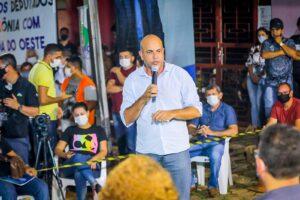 Deputado Ismael Crispin prestigia lançamento do programa Tchau Poeira em Alvorada d'Oeste