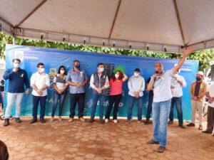 Governo de Rondônia inicia obras do Tchau Poeira em São Miguel do Guaporé e deputado Ismael Crispin agradece parceria