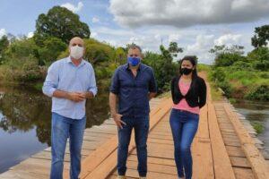 Seringueiras recebe recurso viabilizado pelo deputado Ismael Crispin para construção de ponte