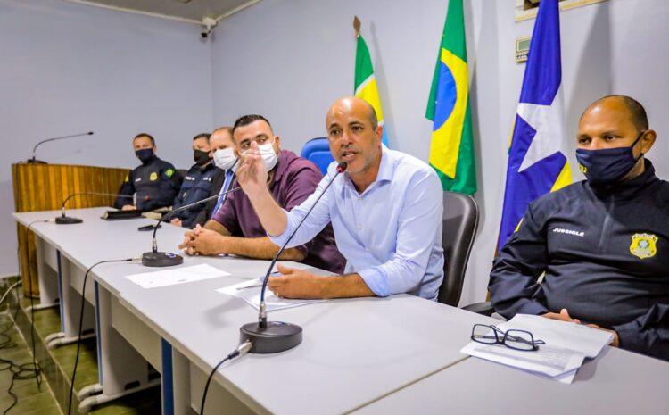 Deputado Ismael Crispin é convidado pela Câmara de Costa Marques para debater segurança pública de fronteira